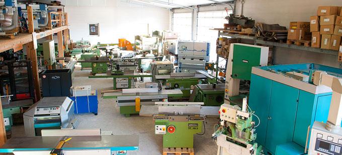 Etwas Neues genug Gebrauchte Maschinen zur Holzbearbeitung - Hüttinger #IP_87